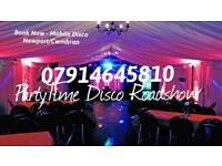 PartyTime Disco Roadshow DJ/Disco/Karaoke for your party