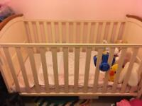 Henley cot bed and mattress