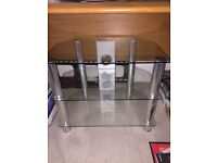 Glass 3 Tier TV Stand Excellent condition