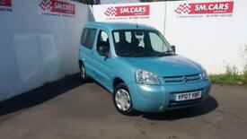 2007 07 CITROEN BERLINGO 1.6 HDi 75BHP MULTISPACE FORTE.GREAT COLOUR.SUPERB MPV.