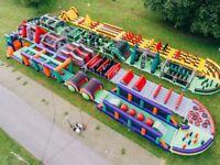 The Beast Ally Pally Adult Bouncy Castle 25.08.17