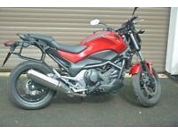 Honda NC750S Brand New Automatic Bike - Red/Black Low Millage