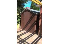 7' 8'' x 5' 8'' Garden shed for sale.