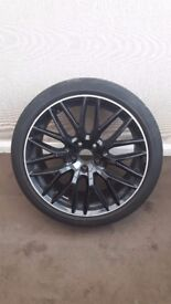 Genuine Audi A5 S5 Rs5 Black Edition alloy wheel