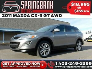 2011 Mazda CX-9 GT AWD w/Leather, Sunroof $129B/W INSTANT APPROV