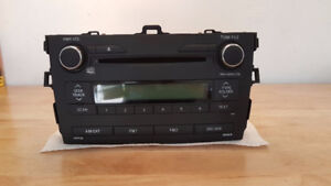 2009-2013 BRAND NEW OEM Toyota Corolla Radio, CD, Aux with plug!