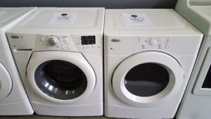 WHIRLPOOL DUET WASHER AND DRYER STACKABLE WASHER AND DRYER