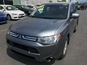 2014 Mitsubishi Outlander ES AWD MAGS+CRUISE+BLUETOOTH+SIEGES CH