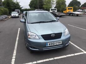 Toyota Corolla , withfull service histroy 3 Doors, Manual, MOT-11/07/2018 ,Clean All around