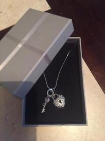 Silver plated necklass