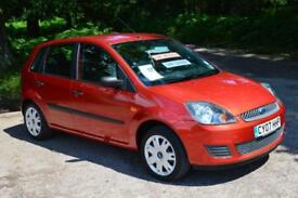 2007 FORD FIESTA 1.25 Style 5dr one owner 43,000 miles