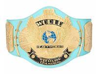 WWE/WWF Replica Winged Eagle Title Belt