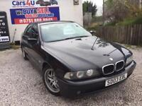 03 BMW 525D ES SEMI - AUTO 2.5 DIESEL IN BLACK *PX WELCOME* MOT TILL MARCH 2018 £695