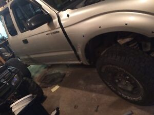 Parting out Tacoma