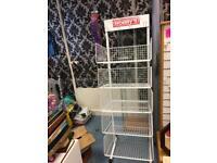 Shop metal display rack