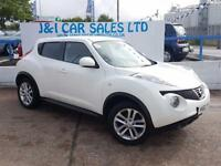 NISSAN JUKE 1.5 ACENTA PREMIUM DCI 5d 110 BHP IN THE BEST COLO (white) 2012