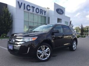 2013 Ford Edge SEL, Leather, Panoramic Roof, Navigation