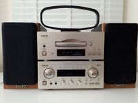 TEAC stereo system with Tannoy speakers