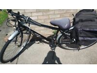 Hybrid bicycle for sale nearly new selling due to health problems
