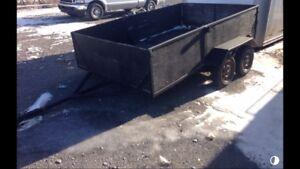 Remorque trailer 6.5x10 2essieux