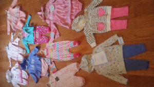 Baby Girl Clothes (size 3-6 months) **ALL NEW W/TAGS!**
