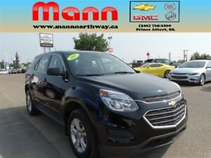 2017 Chevrolet Equinox LS | Rear view camera, Cruise control, Bl