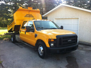 2009 FORD F350 CREW CAB 1 TON DUAL SALE $1000 OFF
