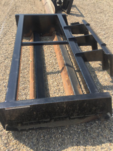Grader attachment for Skid Steer