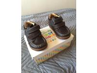 CLARKS First Shoes 4&HalfF