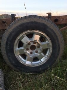 "GMC 17"" Rims and Tires"