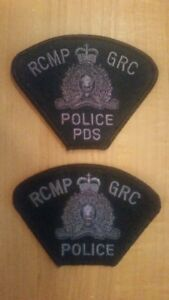 RCMP ERT (SWAT) & K9 (PDS ) Police patch set issued in 2012