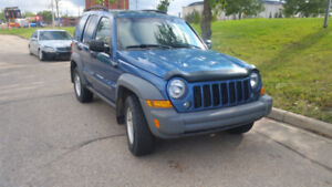 2005 Jeep Liberty All Trail SUV, Crossover 168000 km