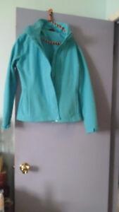 beautiful blue jacket
