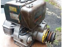 PETTERS/LISTER STAND ALONE DIESEL ENGINE. GOOD RUNNER,MAKE GREAT SHOW UNIT. FREE SPARE ENGINE
