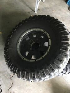 8 bolt rim and tire package 37x12.5 17s