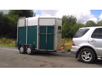 Ifor williams 505 double horse trailer