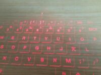 Laser keyboard new in box, bluetooth