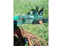 Electric chainsaw £20 ONO
