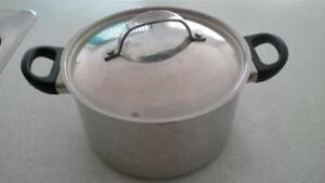 moving sale  pot  and pan