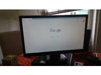 "Iiyama Prolite E2407 HDSD, 24"" monitor 1920 x 1080"
