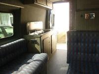 Ford Transit campervan - medium wheel base,midi height.