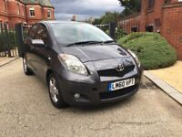 2011 TOYOTA YARIS 1.3 AUTOMATIC VVTI TR MMT,1 owner, TOP SPEC-FULL SERVICE HISTORY.