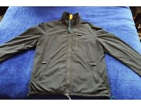 Men's Superdry Windhiker Black & Blue Jacket Size XXL