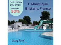 **URGENT OFFER** Cheap discounted Family Holiday to Brittany, France 7 nights only £499!