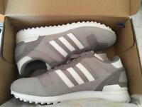Grey adidas originals ZX700 trainers