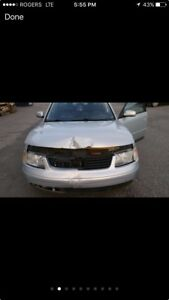 Passat 2001 for parts quick sell 550$ firm