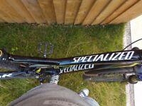 Specialised camber fsr 29er mountain bike