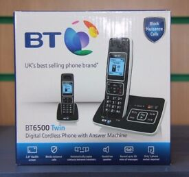 BT 6500 Nuisance Call Blocker Twin Digital Cordless Phone With Answering Machine - Boxed