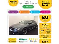 Audi A5 Sportback S Black Edition FROM £72 PER WEEK!