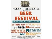 Woodies' Beer Festival 2017